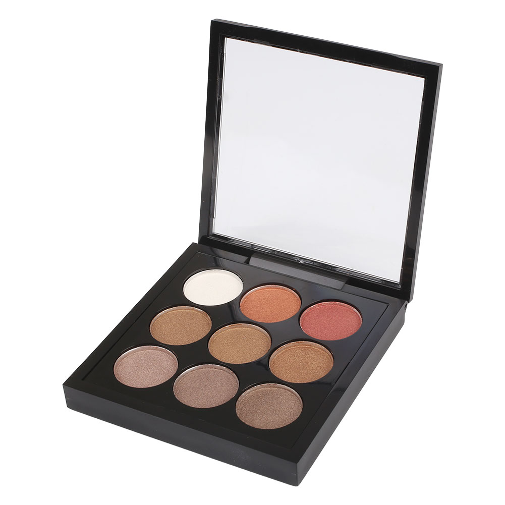 Professional 9 Colors Pigment Eyeshadow Palette Cosmetic ...