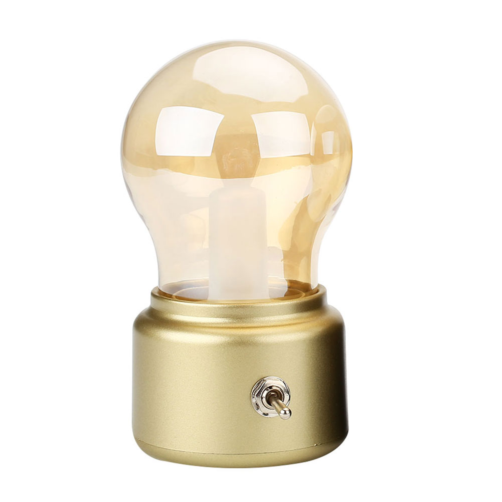 Wall Lamp With Usb : Bulb LED Retro LED Night Light DC USB Rechargeable For Home Wall Lamp Bedroom eBay