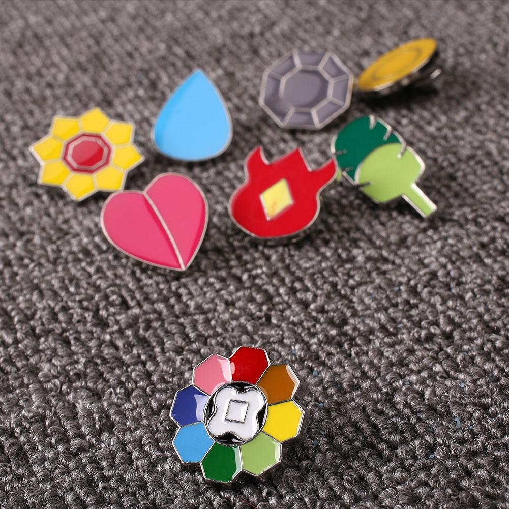 4A67-8Pcs-Set-For-Pokemon-Zinc-Alloy-Cartoon-Badge-Brooch-Model-Toys-Cosplay