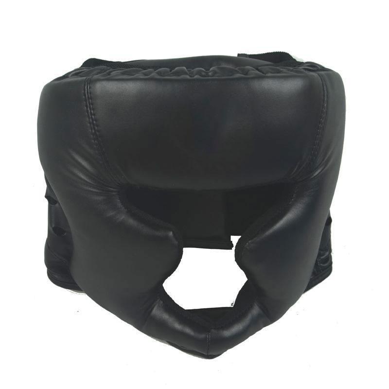 8E76-New-Universal-Closed-Ear-Guard-Grappling-Helmet-Head-BJJ-Boxing-UFC-Rugby