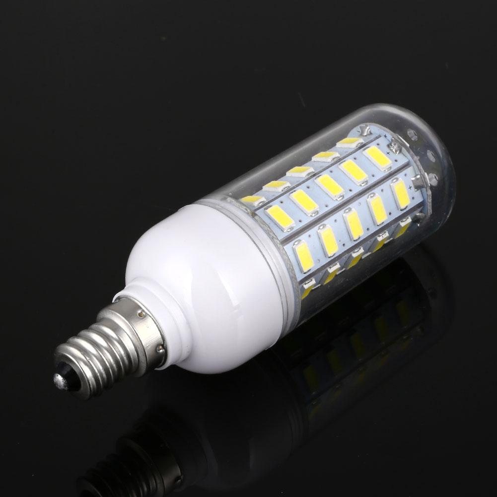 220v 9w 5730 corn 48 led bulb lamp home bedroom lighting. Black Bedroom Furniture Sets. Home Design Ideas