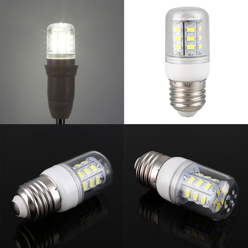 110v 3w 5730 corn 24 led bulb lamp home lighting bright. Black Bedroom Furniture Sets. Home Design Ideas