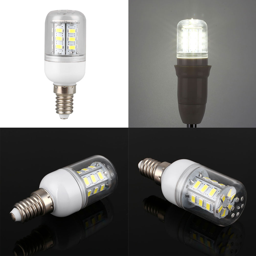 220V 3W SMD 5730 Corn 24-LED Bulb Home Bedroom Lighting