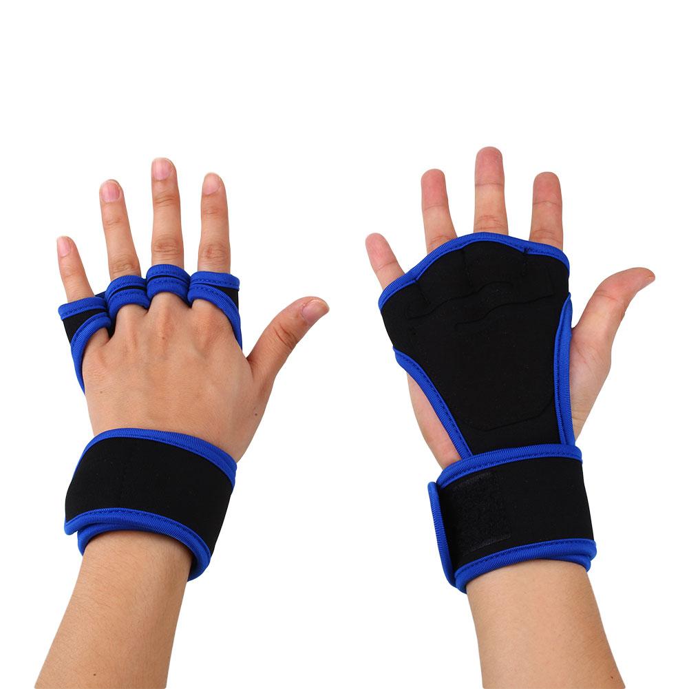 Men Women Fitness Weight Lifting Gloves Workout Training ...