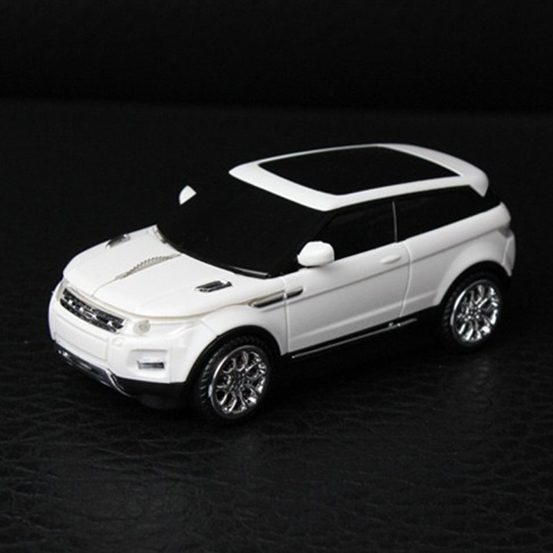 2.4Ghz Wireless SUV Sport Land Rover Optical Car Shaped