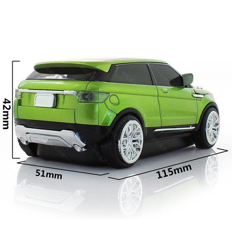 2 4ghz Wireless Suv Sport Land Rover Optical Car Shaped