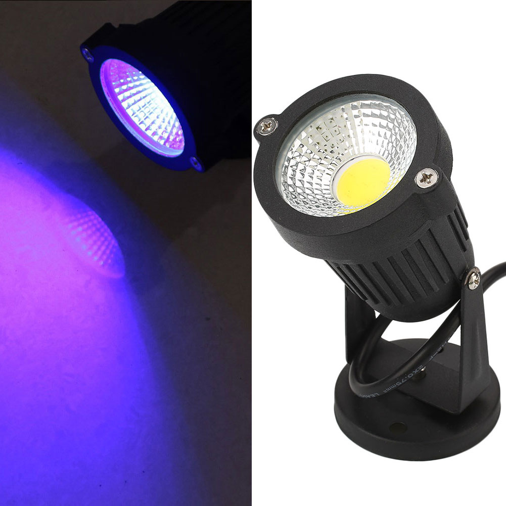 outdoor led 12w cob garden lamp spot light fence ip65. Black Bedroom Furniture Sets. Home Design Ideas