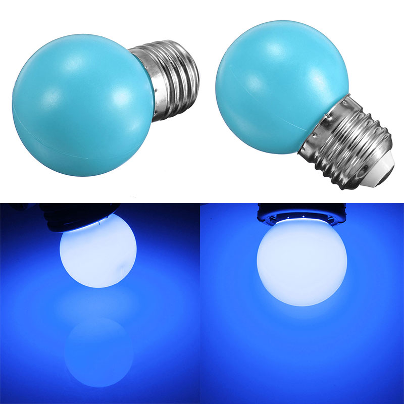 e27 3w 6 led globe ball bulb bright colorful lamp home. Black Bedroom Furniture Sets. Home Design Ideas