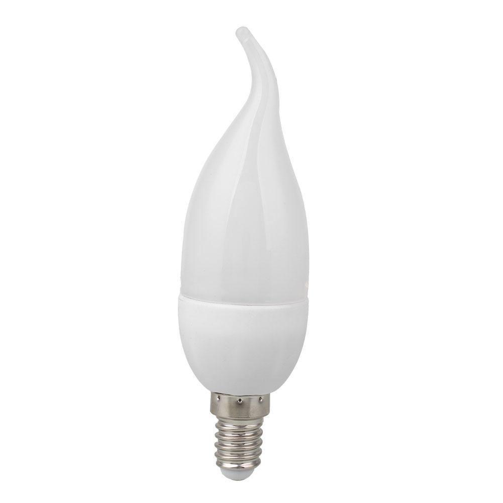 3w led candle flame light chandelier single bulb home. Black Bedroom Furniture Sets. Home Design Ideas