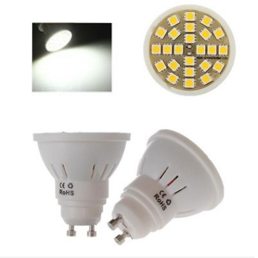 gu10 5w led spot light ac 220 110v bulb 350 380lm garden spotlights downlight ebay. Black Bedroom Furniture Sets. Home Design Ideas