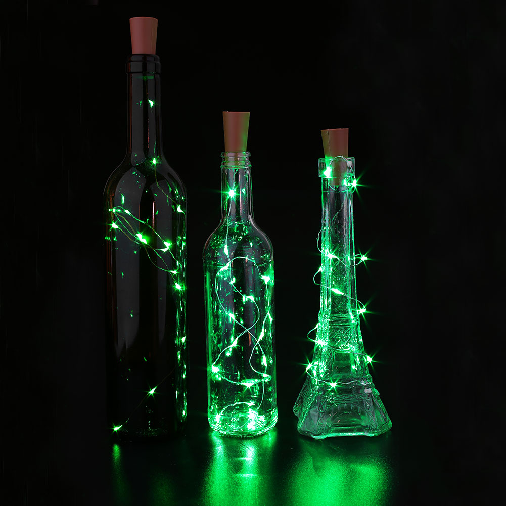 String Lights In Wine Bottles : 3Pcs Wine Stopper Lamp Starry Wire Light String Strip Cork Shaped LED Bar eBay