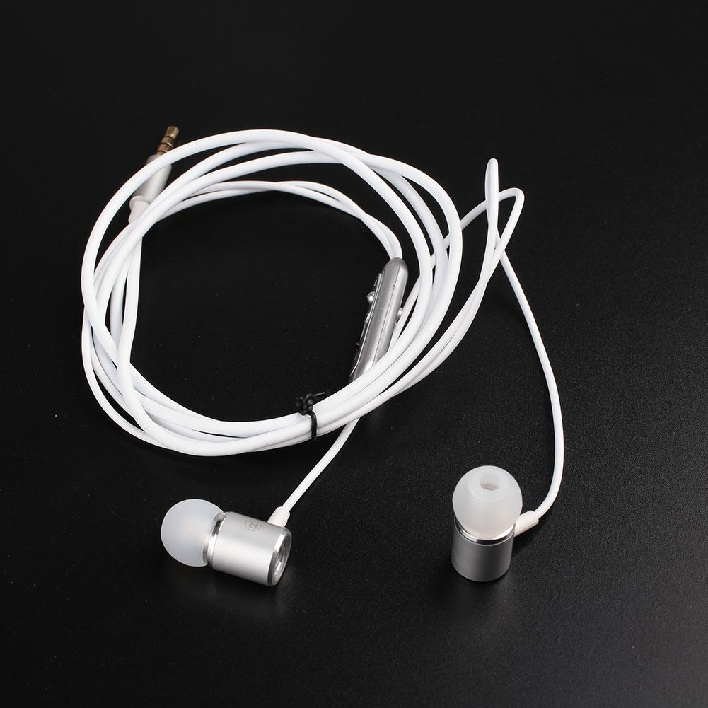 Earphones extra bass - wired magnetic earphones