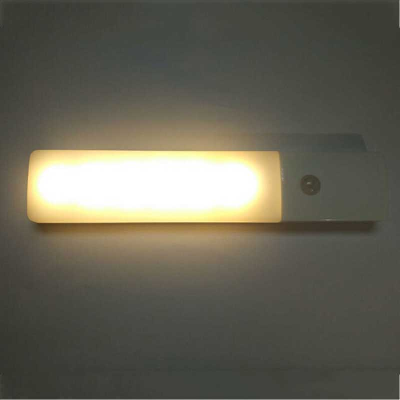 Led Cabinet Drawer Cupboard Lamp Auto Pir Motion Sensor