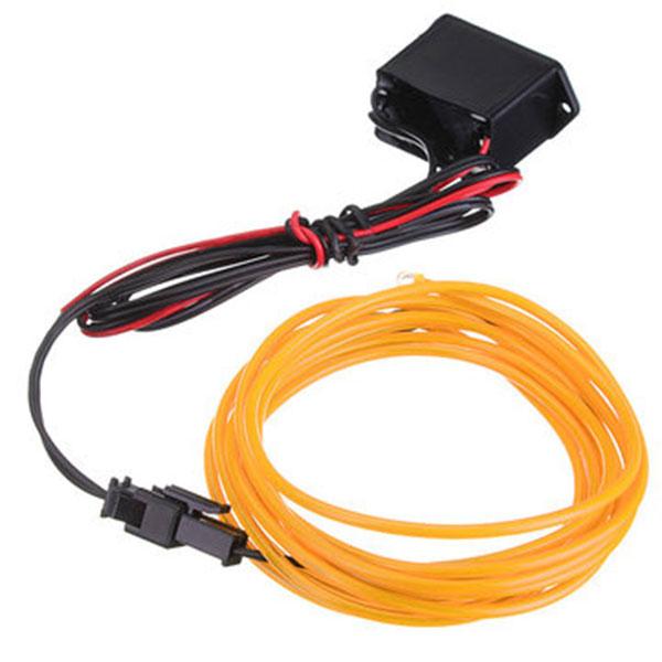 1M 12V Car Neon Xmas Christmas Glow Light EL Wire Strip Dance Party ...
