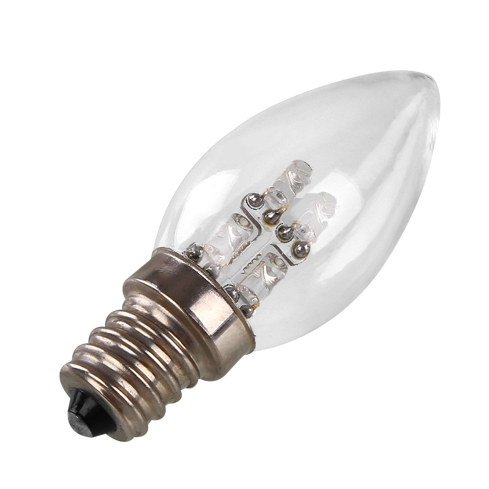 hot e12 led 0 5w candle light bulb lamp 220v 80lm white warm white lighting ebay. Black Bedroom Furniture Sets. Home Design Ideas