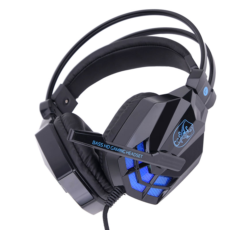 sy850mv wired gaming headset stereo headphone for gamer player casque audio ebay. Black Bedroom Furniture Sets. Home Design Ideas