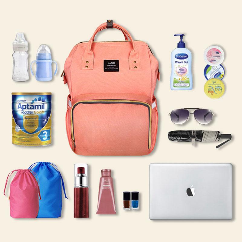2017 mummy maternity bag large capacity backpack baby diaper bags nursing bag ebay. Black Bedroom Furniture Sets. Home Design Ideas