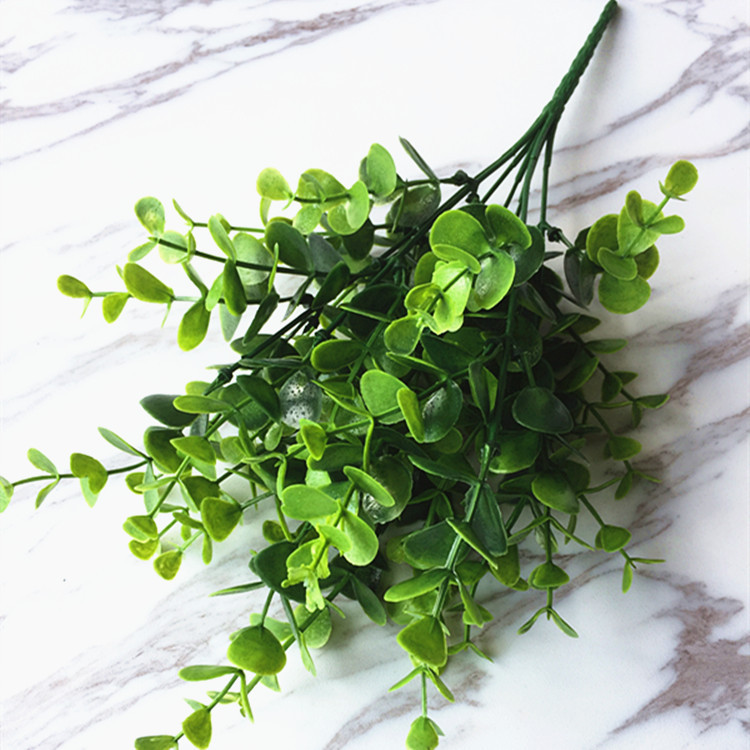 F12D-Artificial-Plants-Outdoor-Fake-Flower-Leaf-Bush-Home-Office-Garden-Decor