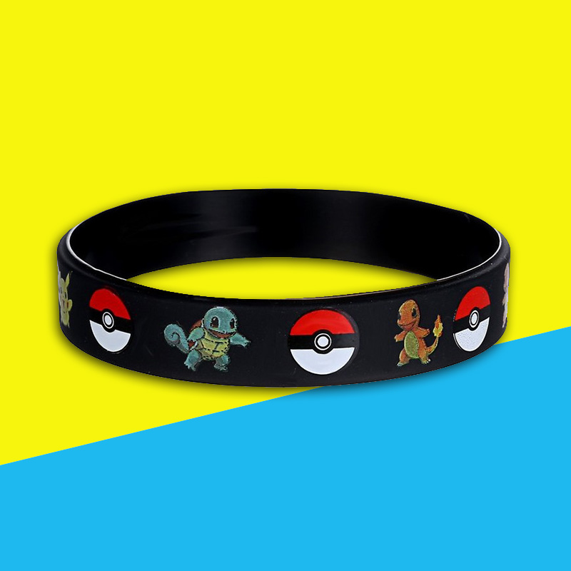 941D-Cartoon-Wristband-Bracelet-Decoration-Silicone-Traveling-Souvenir-Soft