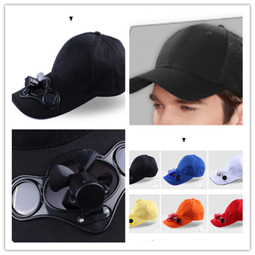 A954-Sport-Hat-Cap-with-Solar-Sun-Power-Cool-Cooling-Fan-For-Cycling-Hiking-NEW