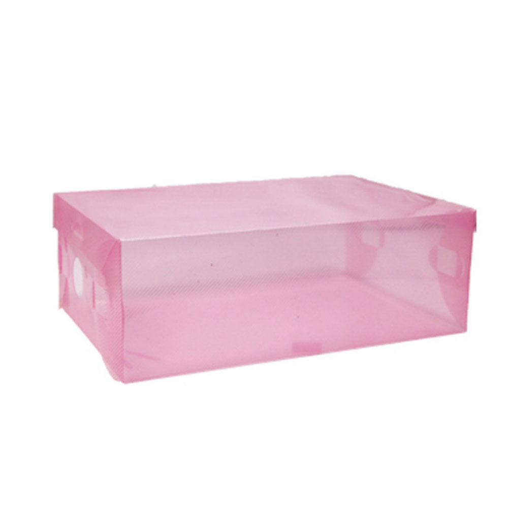 F85A-Plastic-Shoes-Box-Fodable-Home-Portable-Travel-Space-Saver-Storage-Case