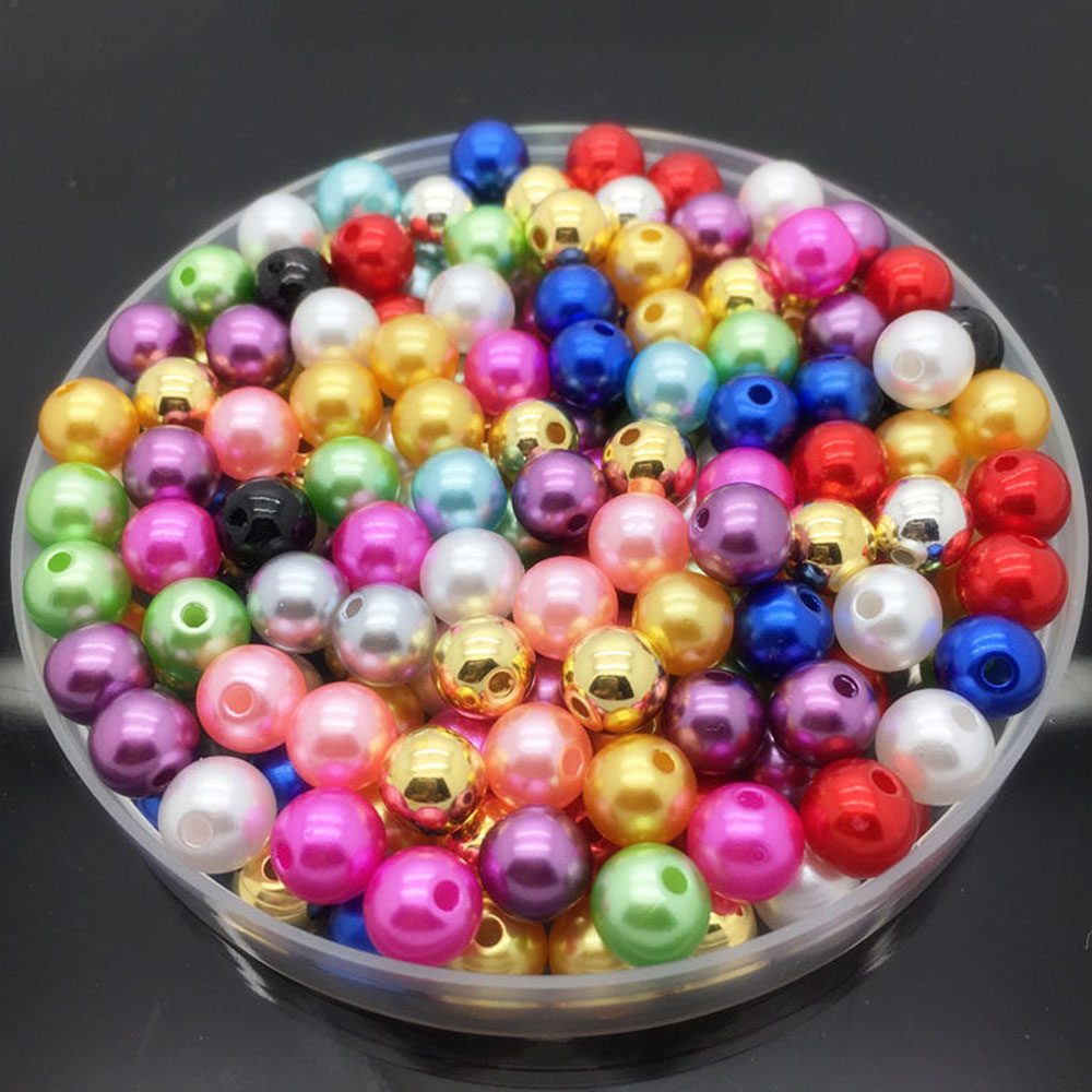1563-100Pcs-DIY-Acrylic-Round-Pearl-Spacer-Loose-Jewelry-Beads-Crafts-Making