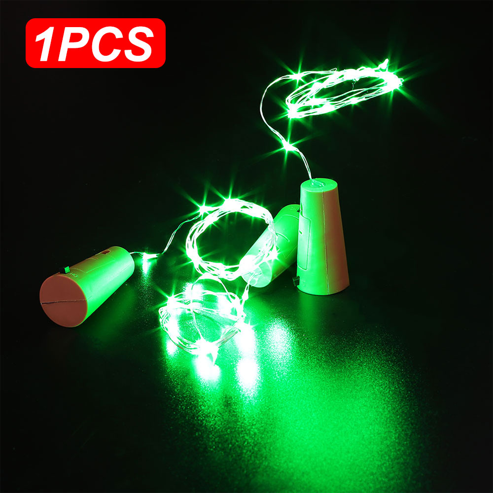 5CB4 9FD6 20 LED Battery Micro Rice Wire Copper Fairy String Lights Party 2M UK