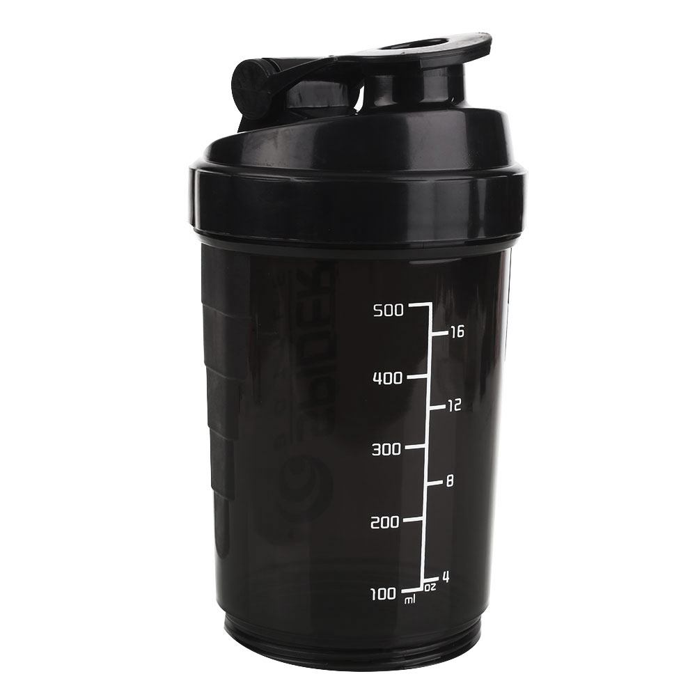 Protein Shaker Net: 500ml Sports Protein Mixer Blender Shaker Shaking Cup