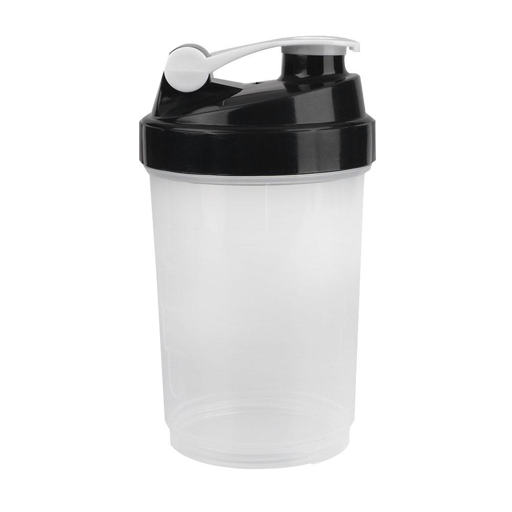 Protein Shaker Net: 500ml Protein Blender Shaker Shaking Cup Bottle Water