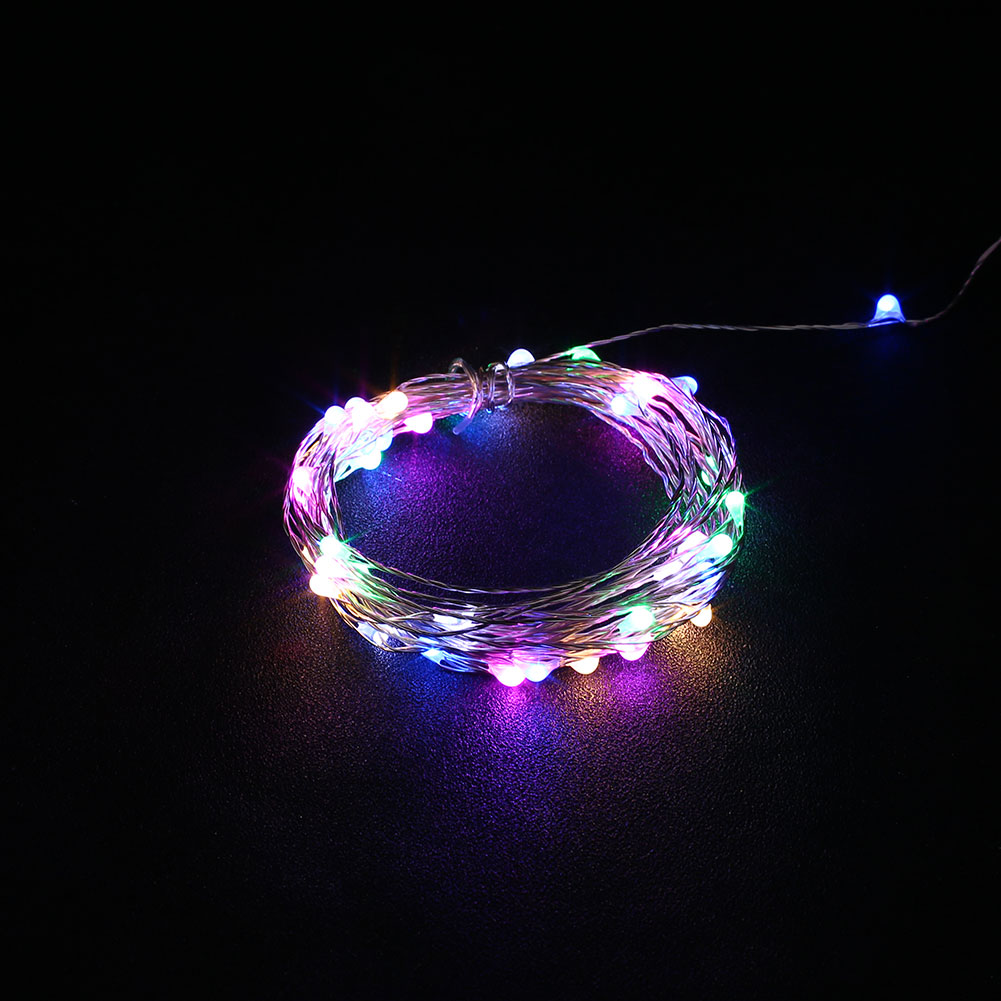 Led String Lights Usb : Outdoor 5M USB Christmas Copper Cord 50-LED Strip String Light Waterproof eBay