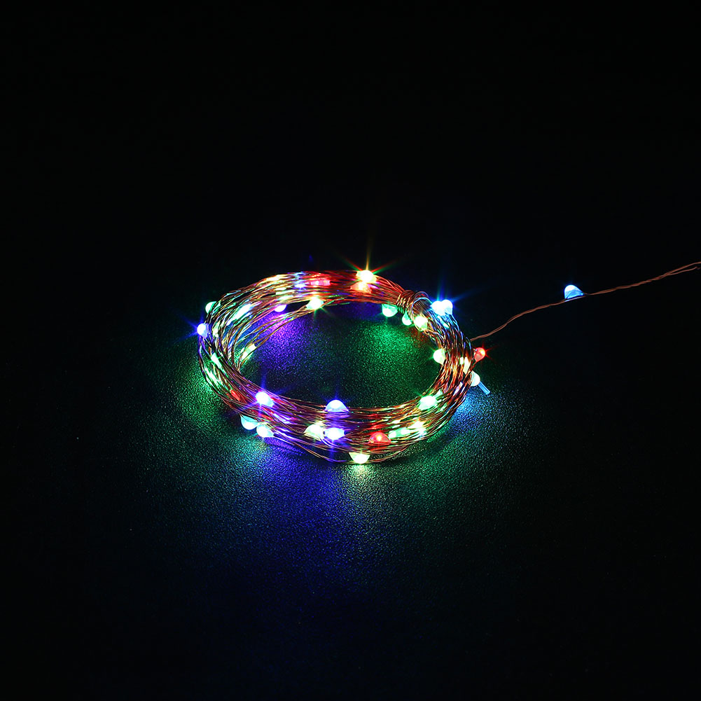 Outdoor 5M USB Christmas Copper Cord 50-LED Strip String Light Waterproof eBay