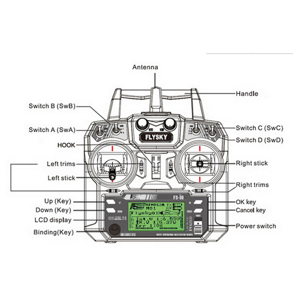 Circuit Diagram additionally FS I6 Flysky AFHDS 2A 2 4GHz 6CH Radio Transmitter FS IA6 Receiver For RC Helicopter together with 322336621580 furthermore 2 4GHz ASF 3 Channel Receiver Unit For Mini Z AMZ AMR P 1008289 also 130057. on fs rc transmitter