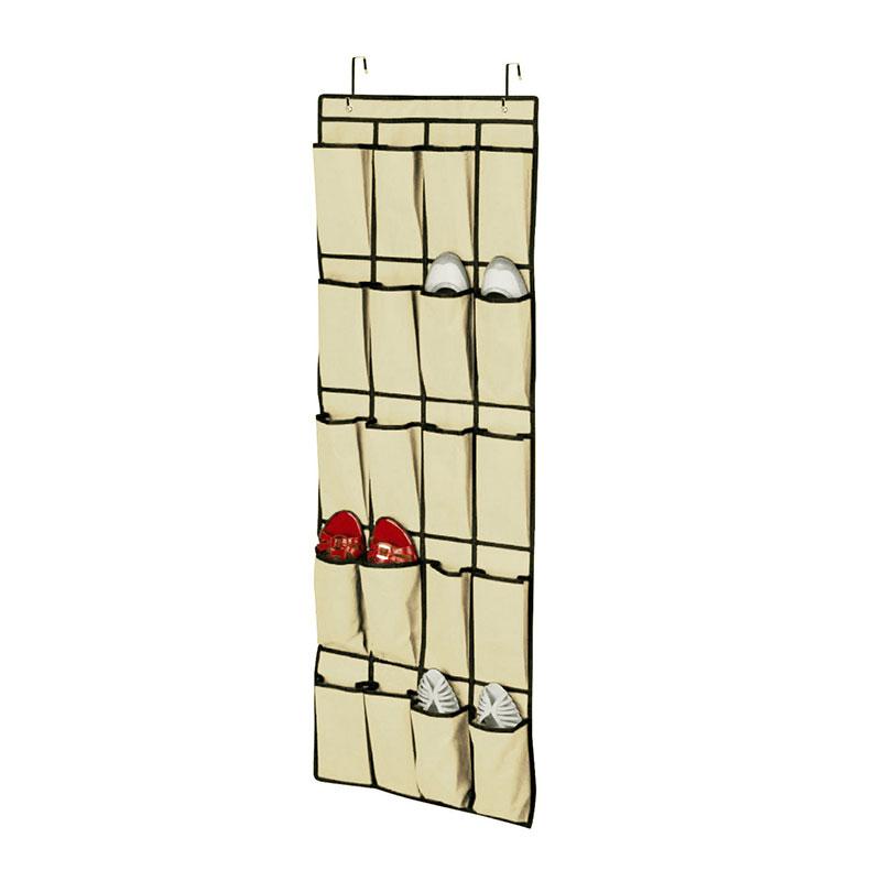 20 Pockets Cloth Hanging Shoe Storage Organizer Bag Closet