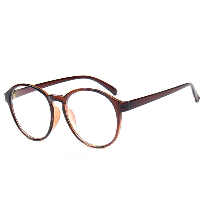 Vintage Unisex Glasses Retro Round Optical Frame ...