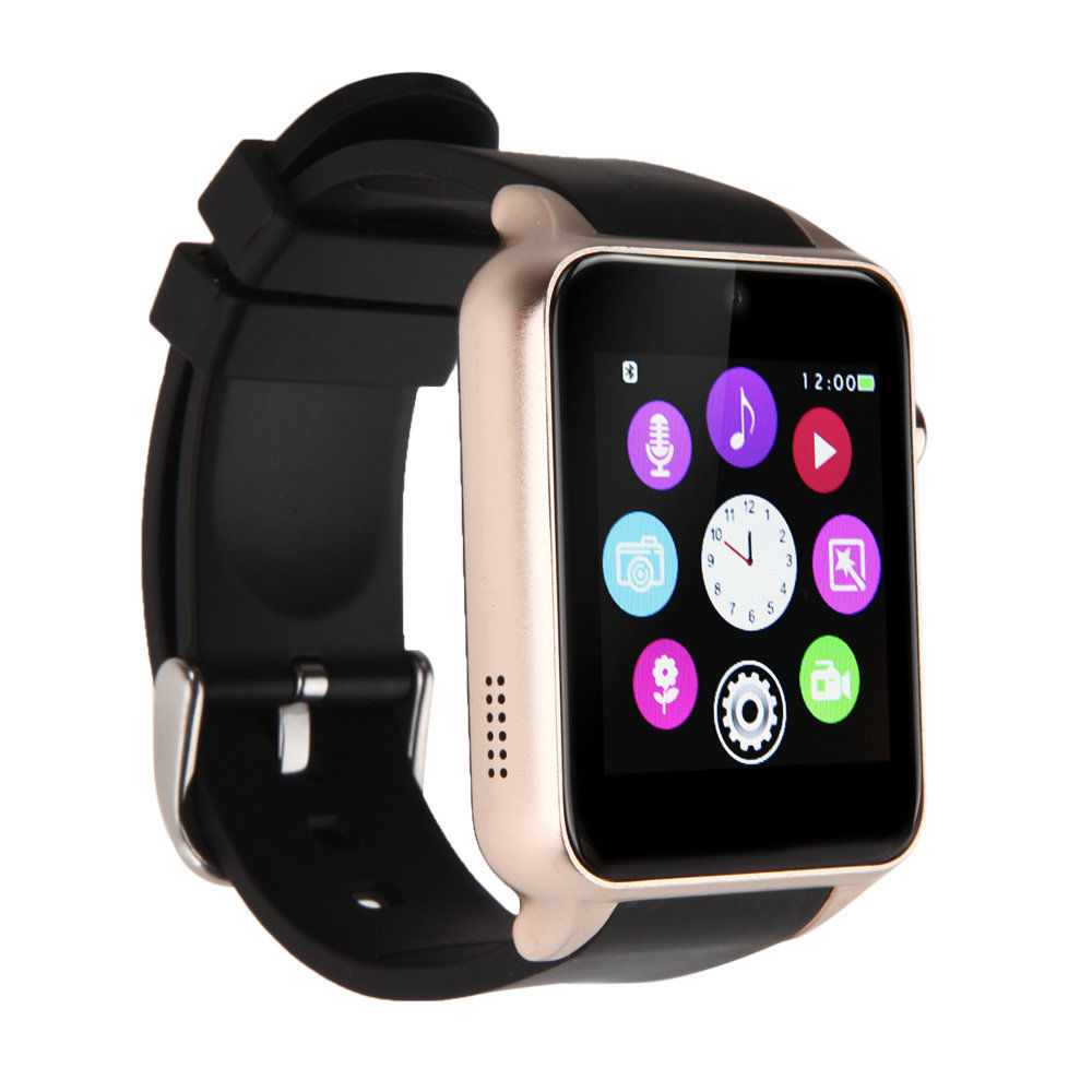 Waterproof gt88 nfc bluetooth smart watch phone mate for iphone android ebay for Android watches