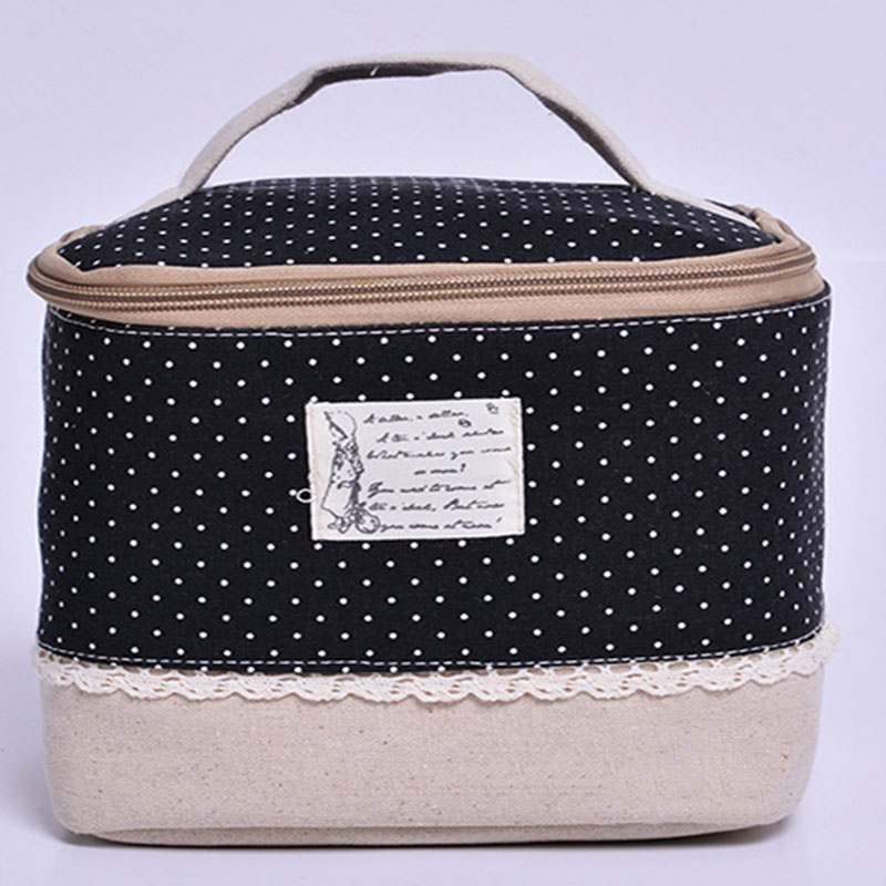 makeup travel storage bag cosmetic jewelry wash hanging toiletry case organizer ebay. Black Bedroom Furniture Sets. Home Design Ideas