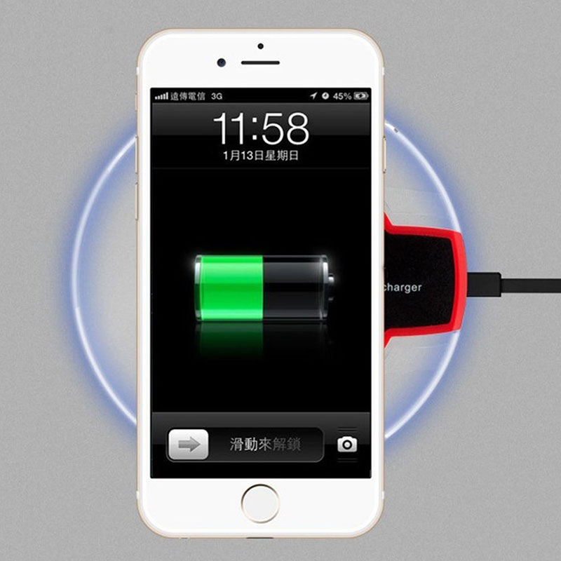 qi wireless charging pad induktion ladeger t f r apple. Black Bedroom Furniture Sets. Home Design Ideas