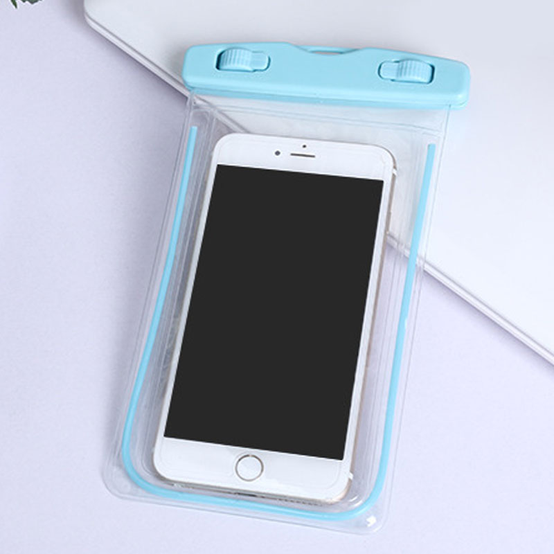 waterproof underwater float pouch bag pack case for cell phone iphone7 samsung ebay. Black Bedroom Furniture Sets. Home Design Ideas