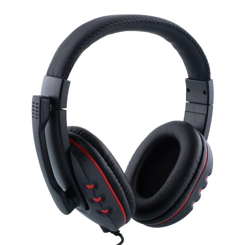 wirded gaming headset earphone headphone with mic for sony playstaiton4 ps4 pc ebay. Black Bedroom Furniture Sets. Home Design Ideas