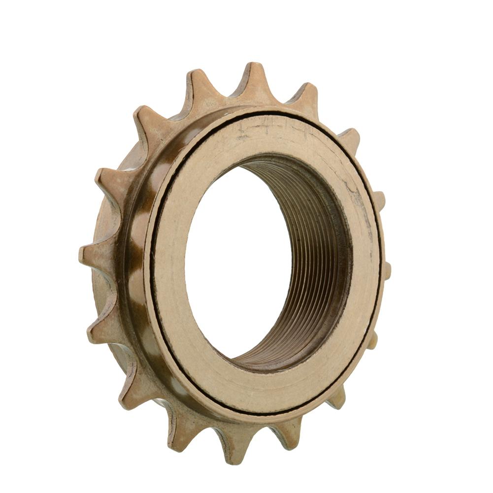 Durable 16 tooth singlespeed metal freewheel sprocket gear for Freewheel sprocket for electric motor