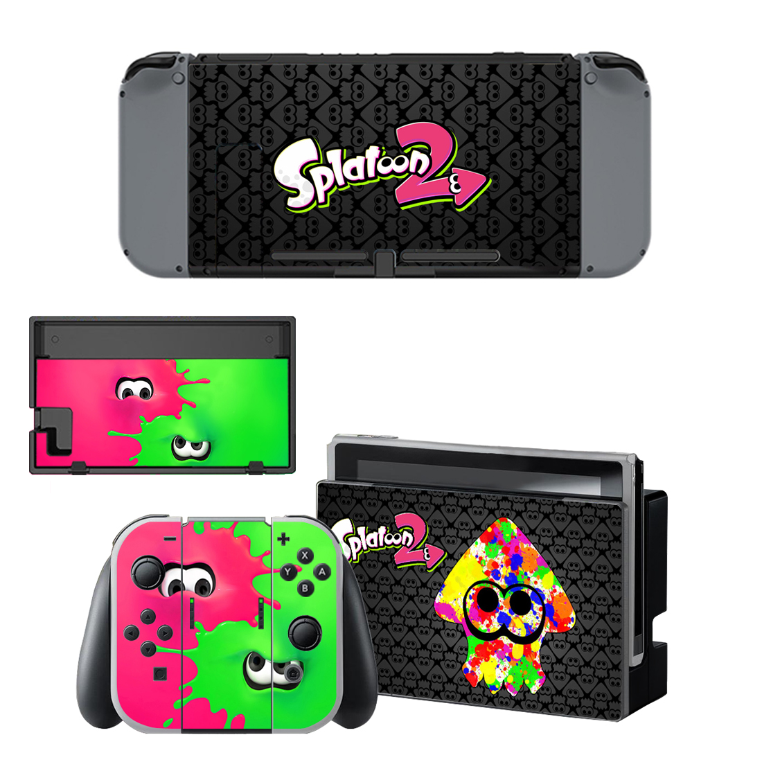 For Nintendo Switch Console Gamepad Skins Vinyl Decals