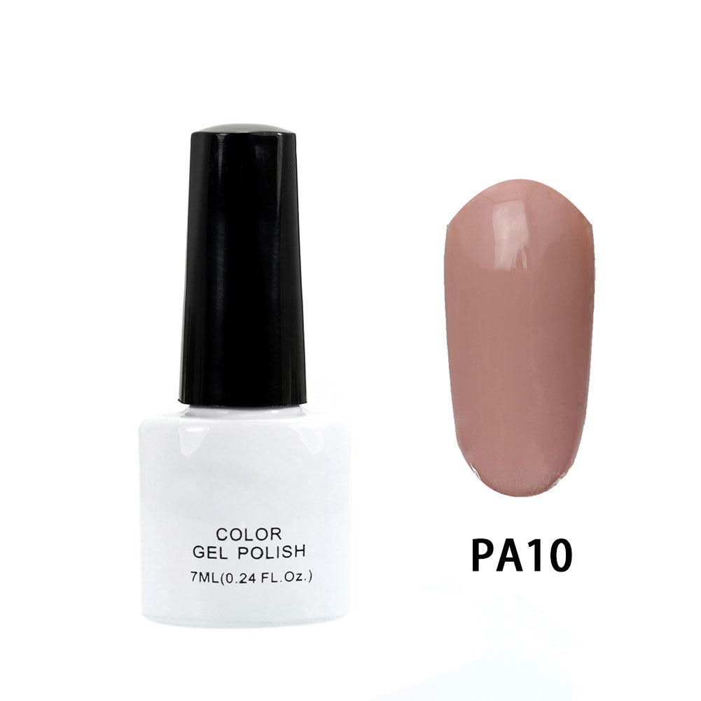 Stylish Nude Color Nail Art Polish Gel Lacquer Enamel