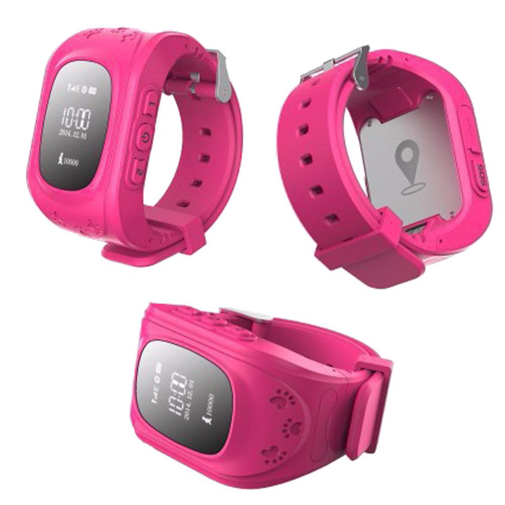 Q50 Anti-lost Children Smart Watch GPRS 10m GSM 50-200m For Android IOS Phone