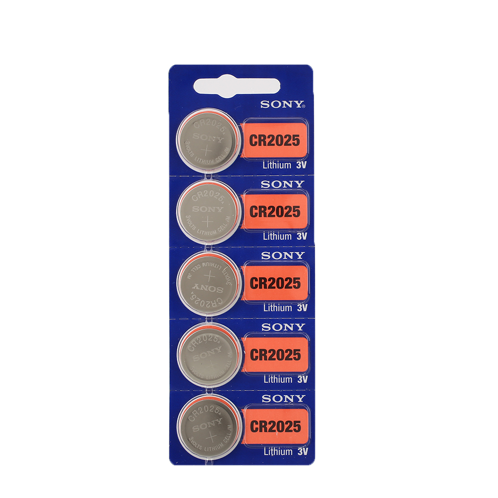 5pcs sony cr2025 cr 2025 3v lithium coin batteries watch button cell battery ebay. Black Bedroom Furniture Sets. Home Design Ideas