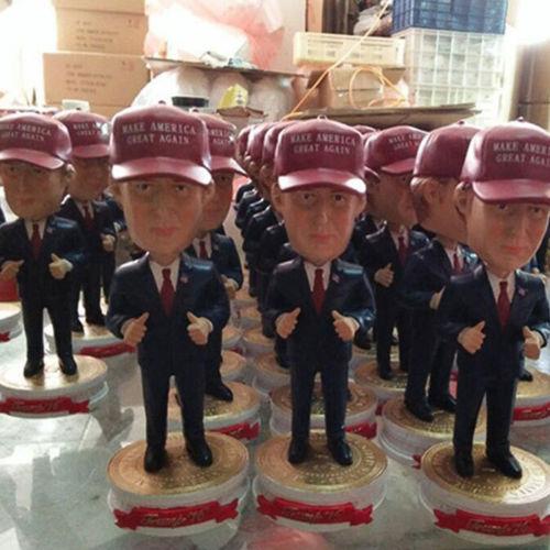 Great America Sales Gift: Trump 2016 Presidential Bobblehead Figure Make America