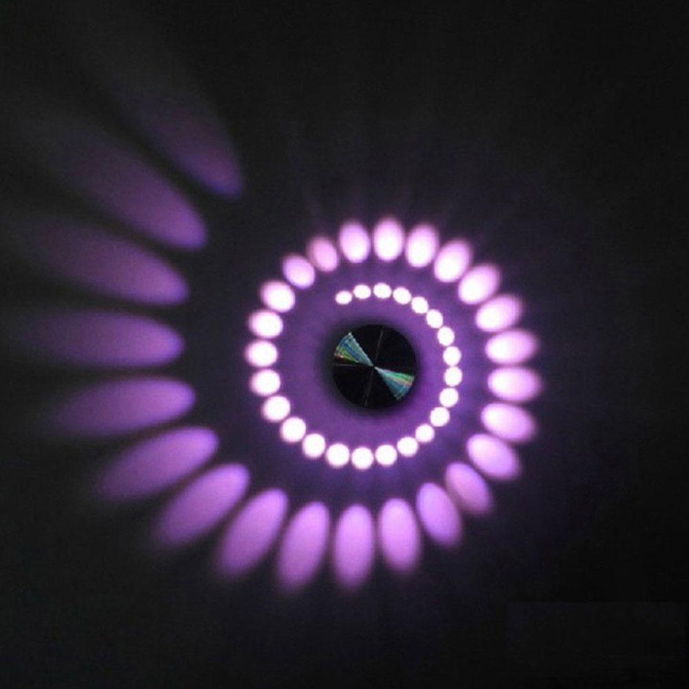 DA2A 85-265V AC 3W LED Aluminum Ceiling Light Fixture Pendant Lamp Chandelier