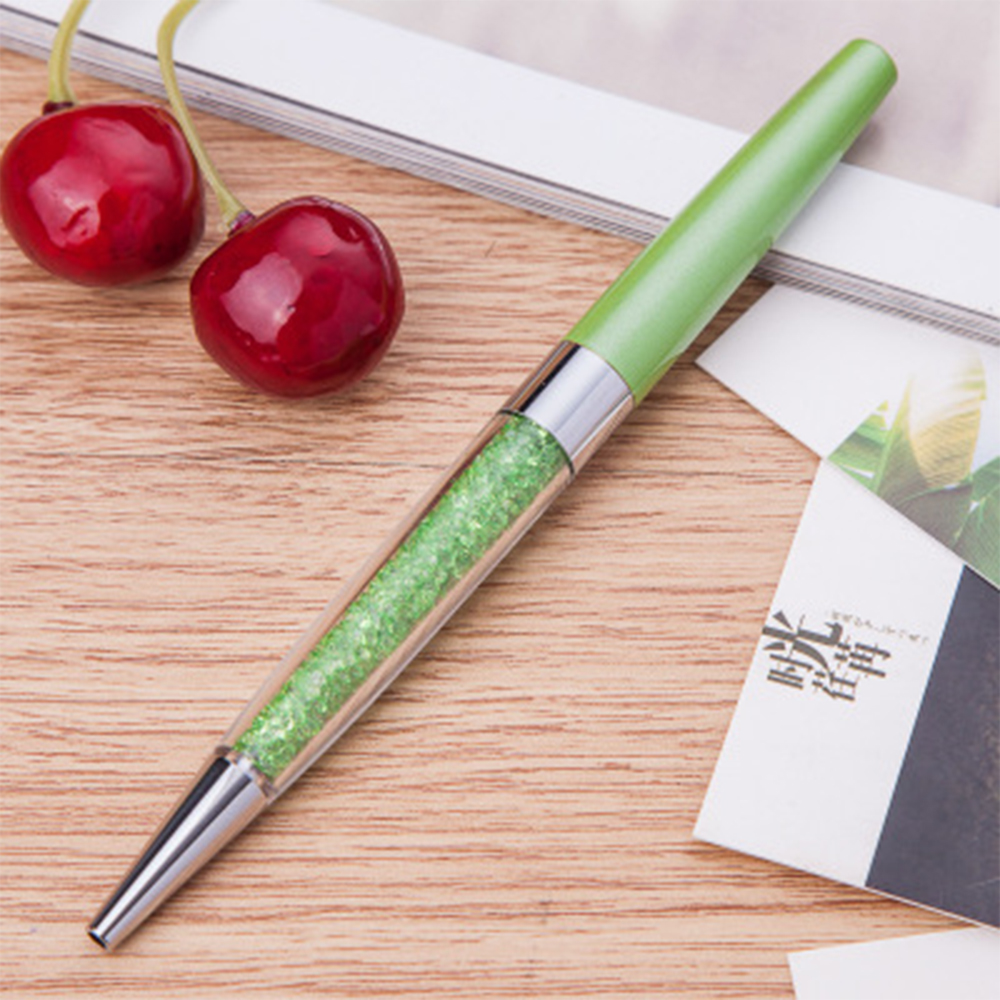 F879 BDCA Writing Pen Crystal Ball-Point Pen Gifts Office Writing Tool Supplies