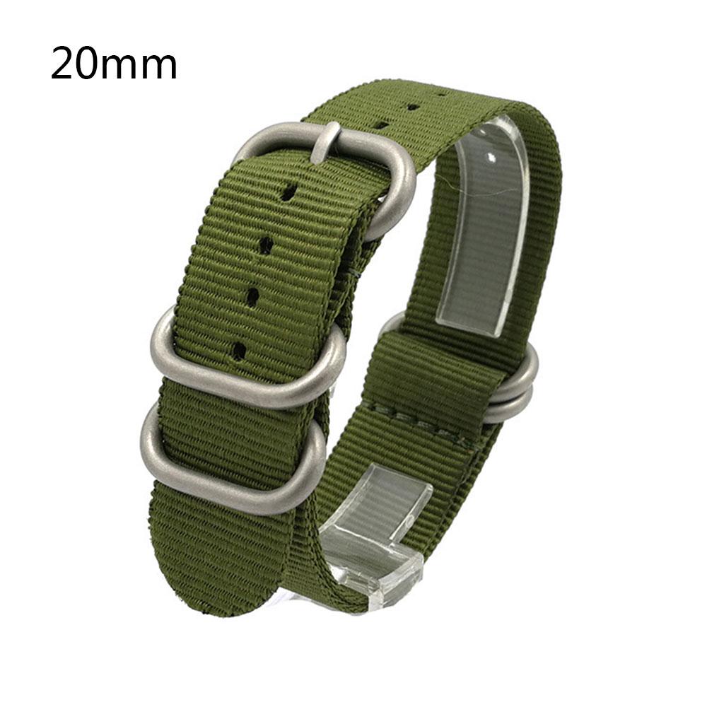 915B Clasp Buckle Military Army Wrist Straps Genuine Nylon 20//22mm