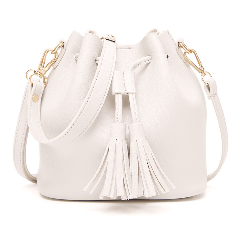 5718 5 Color Tassel Bag Women Bag Magnetic Buckle Shopping Purse Fashion