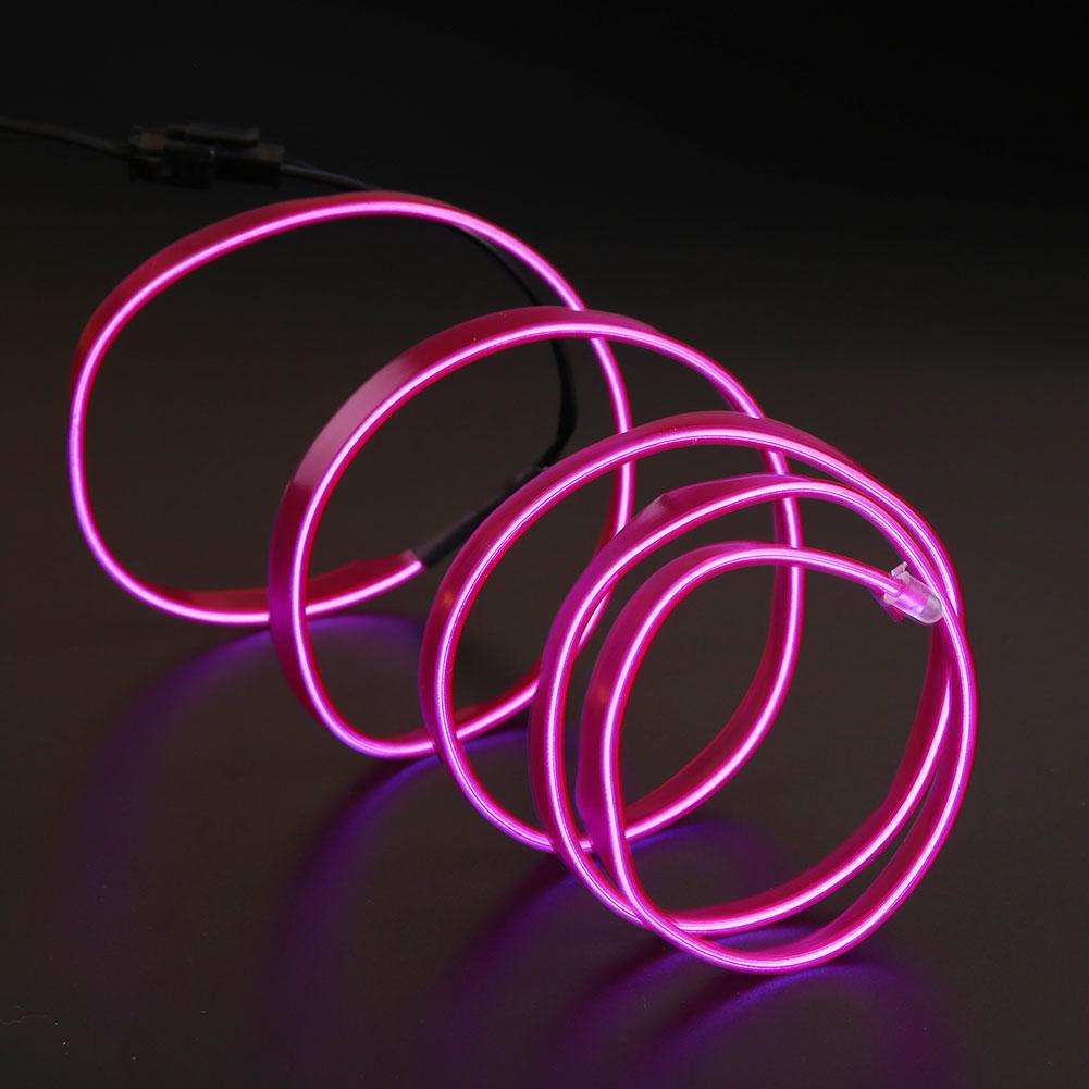 Diy Wire String Lights : 2M Car Neon Xmas DIY Light Inverter Flexible EL Wire Strip String Dance Rope eBay